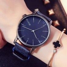 Gimto casual mujeres relojes señoras reloj de cuarzo de cuero de la vendimia reloj chica estudiante de moda reloj de pulsera relogios montre relojes
