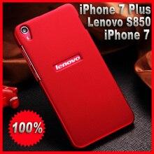 lenovo s850 case cover Plastic Fashion case for iphone 7 7 Plus plastic case cover Brand