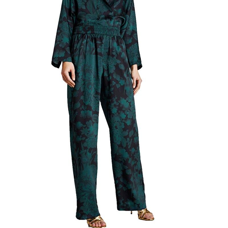 Summer pants 2018 casual printing womens clothing loose pants women high waist pants