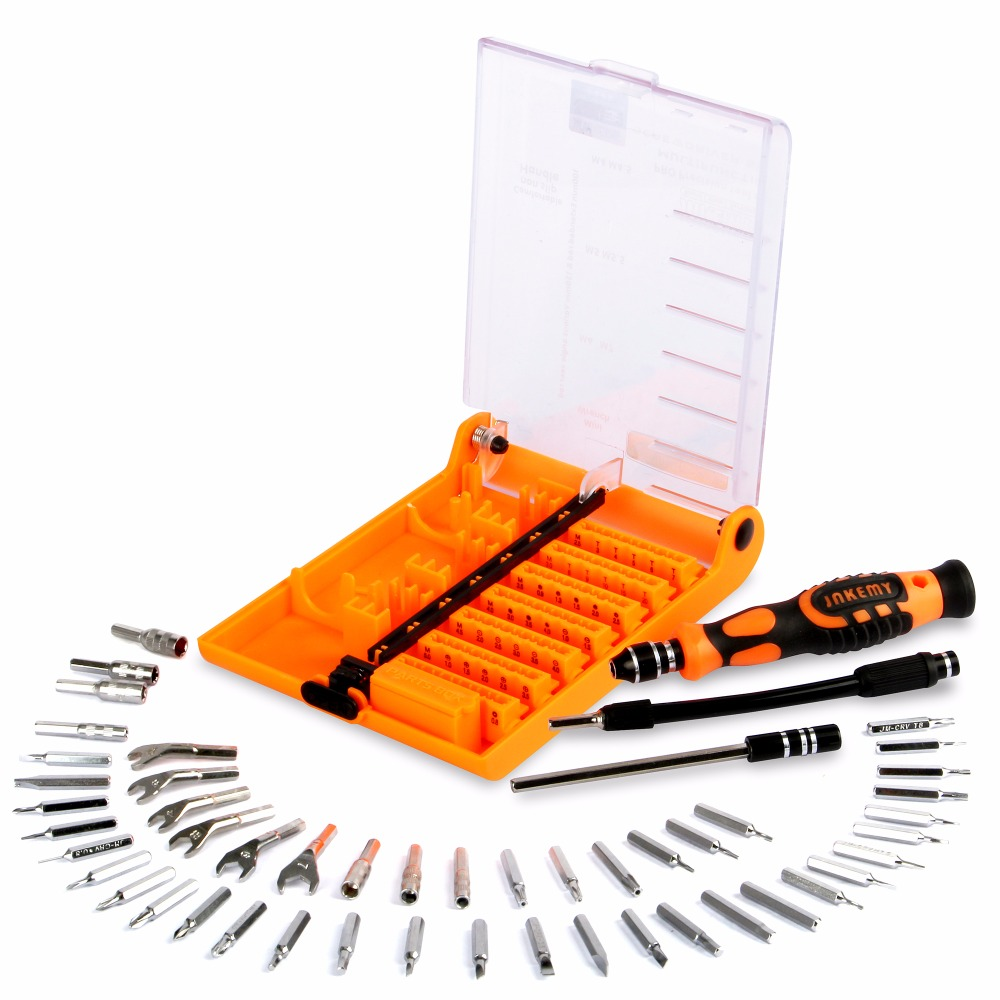 JAKEMY 52 in 1 Professional Screwdriver Set Multi-tool Kit for Repair for Watch Phones PC Electronic Maintenance Parafusadeira
