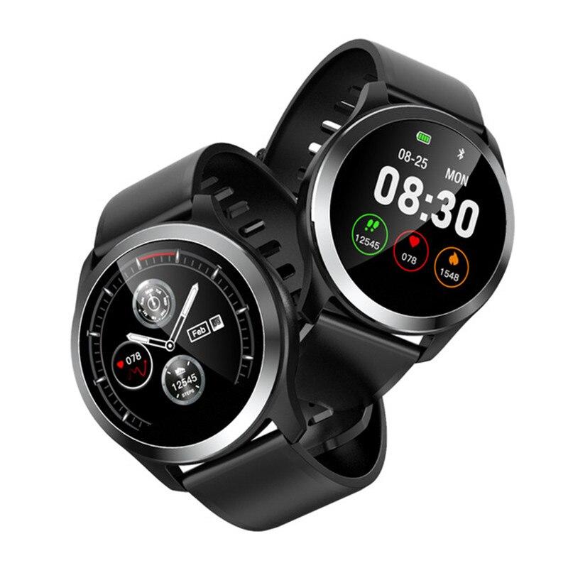 Lsmartlife Z03 PPG Relógio Inteligente Exibição ECG Eletrocardiógrafo ECG Pressão Arterial Medida Homens Mulheres Smartwatch
