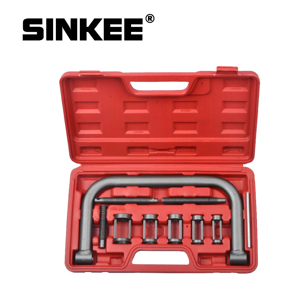10pc Valve Spring Compressor Pusher Automotive Tool For Car Motorcycle Kit 5 Sizes SK1001