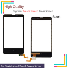 """4.3""""For X RM980 Touchscreen For Nokia Lumia X A110 RM 980 RM980 Mobile Phone Touchscreen Panel Front Glass Lens 4.3'' NO LCD"""