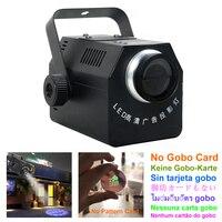 Işıklar ve Aydınlatma'ten Sahne Aydınlatması Efekti'de AUCD 50W LED ayarlanabilir Zoom reklam logosu projektör ışıkları ışın projeksiyon gösterisi reklam lambaları Cafe mağaza disko yok gobo kart LW50
