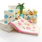 Household Hand Towels Soft Washcloth Cotton Bathroom Absorbent Face Cloth Towel Top Grade Men Women Family Bathroom Towel K25