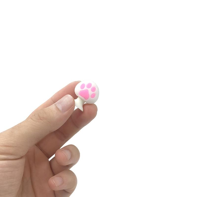 Купить с кэшбэком 8pcs/lot Bring Lucky Flamingos Cute Claws Mini Sucker Cup Funny Creative Toy Kids Pencil Topper Decor Model Gifts