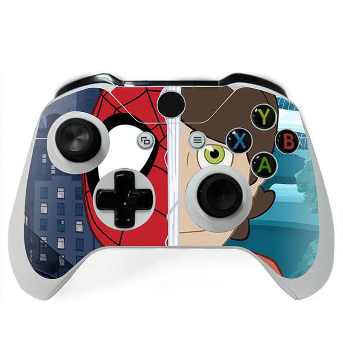 Novos Jogos Decalque Spiderman Projeta Para Controladores de Xbox Um Fino Peles Etiqueta Para Xboxone S