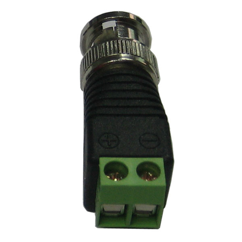 10pcs Video Converter connector BNC male for cctv camera adapter