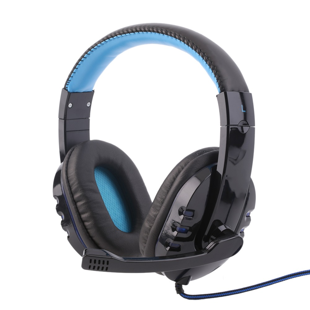 Professional Gaming Headset Surround Stereo Game Headphone Headband Earphone 3.5mm with Light Mic Micphone For Computer PC Gamer xiberia k9 usb surround stereo gaming headphone with microphone mic pc gamer led breath light headband game headset for lol cf