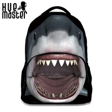 Children backpack creative 3D print animal Fashion High capacity Multifunction bags dinosaur shark