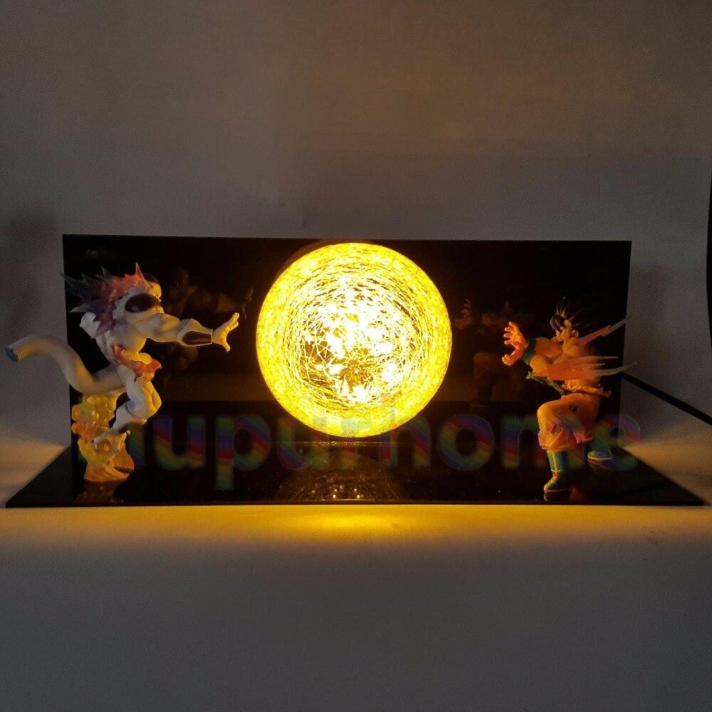Dragon Ball Z Son Goku VS Freezer Led Night Lights lampade Da Tavolo lampada Anime Dragon Ball Z DBZ Son Goku Ha Condotto La Lampada Di Natale DecorDragon Ball Z Son Goku VS Freezer Led Night Lights lampade Da Tavolo lampada Anime Dragon Ball Z DBZ Son Goku Ha Condotto La Lampada Di Natale Decor