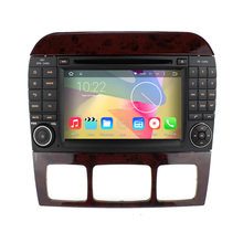 7″ 2 din Car Radio Android 5.1 CD DVD Player GPS Navigation for Benz S Class W220 S280 S320 S350 S400 S420 S430 GPS Stereo