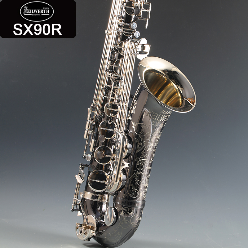 95 copy Germany JK SX90R Keilwerth Tenor saxophone Nickel plated silver Tenor Sax Top professional Musical