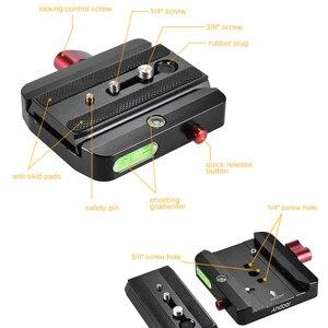 Image 5 - Andoer محول الاتصال السريع مع الإفراج السريع انزلاق لوحة ل Manfrotto ترايبود 577 استبدال