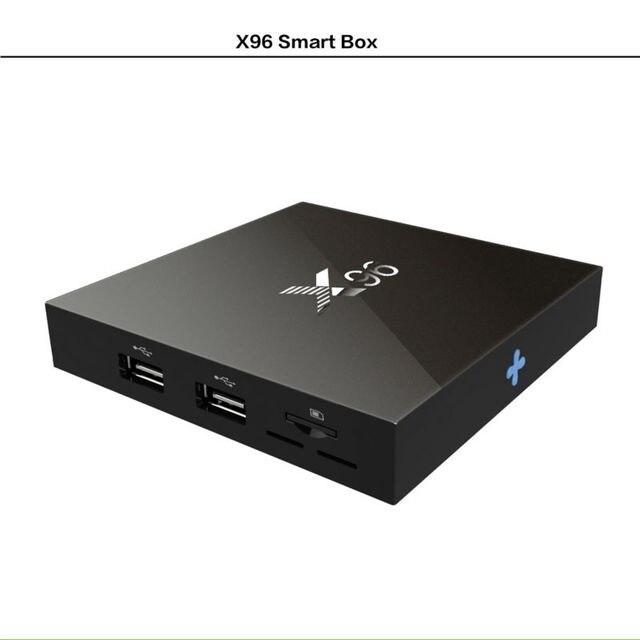[Genuine] VONTAR X96 Amlogic S905X Quad Core Android 6.0 TV Box 4K 2GB 16GB 2.4G Wifi HD 2.0A Smart TV Box Media Player  2