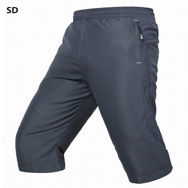 Thương hiệu Quần Âu mens thời trang calf-length quần men Summer Mới ngắn mens joggers Ngoài Trời đồ thể thao nam pantalon homme 1004