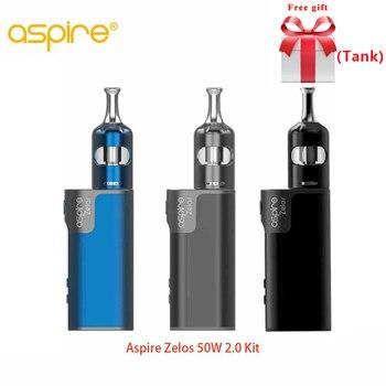 Réservoir gratuit Original Aspire Zelos 50 W 2.0 Kit MTL avec Nautilus 2 S réservoir 2.6 ml/2 ml débit d