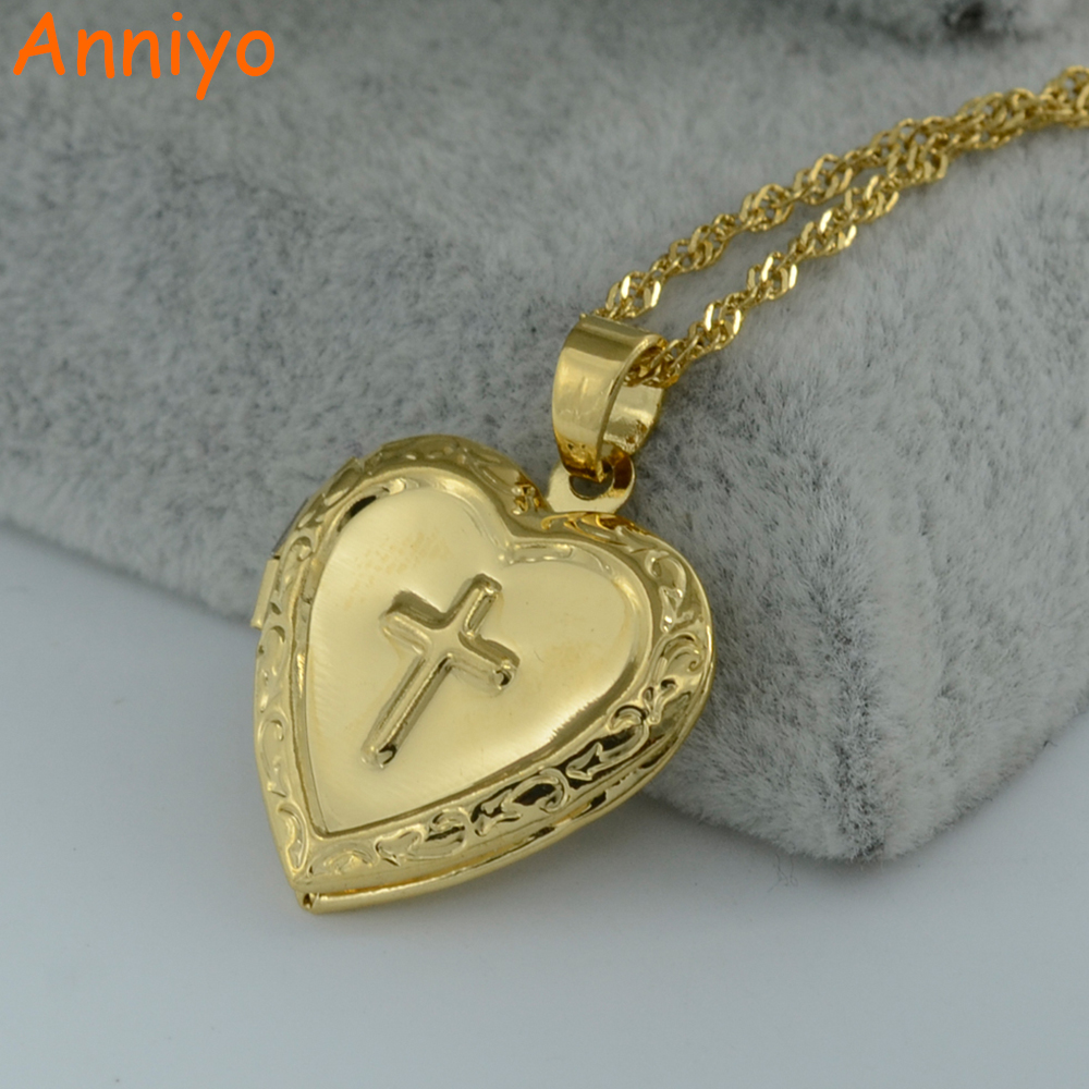 Crucifix Necklace Womens: Anniyo Cross Box Necklace For Womens/Girl,Crucifix Pendant