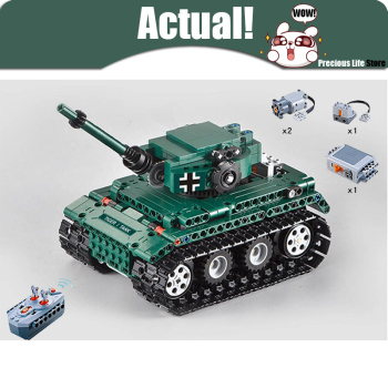 Remote Control Tiger 1 Technic Model