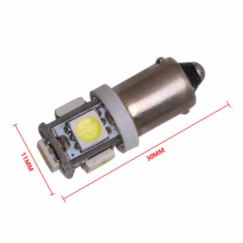 10 Pcs T11 BA9S CANBUS Kesalahan Gratis 5050 SMD 5 LED 5SMD Mobil Lampu Sein LED 12 V lampu Belakang T4W 3886X H6W 363 Dome Lampu