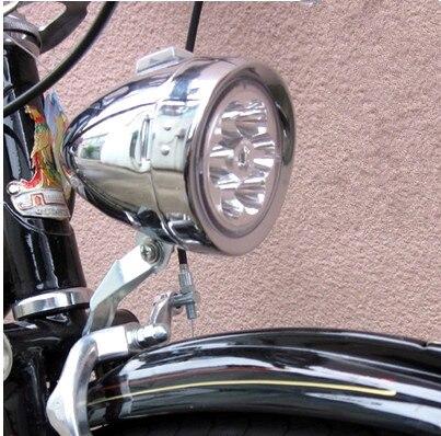 2016 New classic bike led bike <font><b>light</b></font> retro bicycle acessorios bike front <font><b>light</b></font> bike lamp