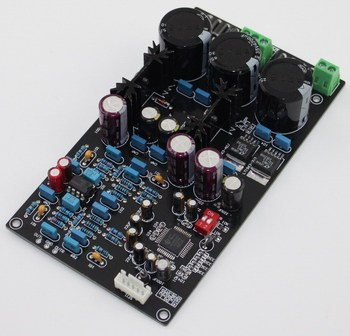 AC15V-0-AC15V AK4495SEQ + AD827 II2S DAC Decoder Board 155 * 87MM