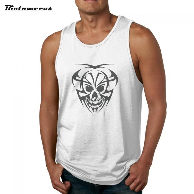 66e21c9bcb1a7 New Arrivals Men Tank Tops Summer Overlord Monkey Face Printed Casual Male  Retro Style Tank Tops MBXKL005