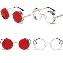 Ciclismo Óculos Popular do Verão Do Vintage Retro Rodada Óculos Cor de  Gradiente Unissex Fabuloso Lente 5edf068c81