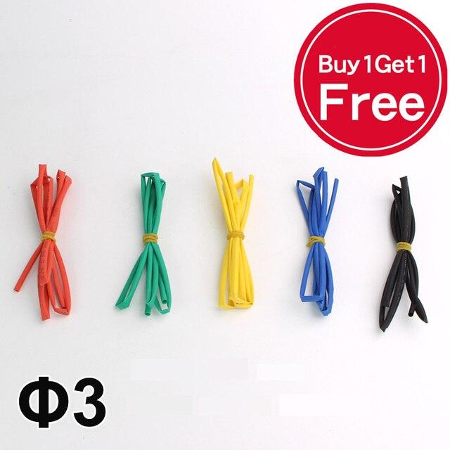 buy 1 get 1 free 3mm heat shrink tube 21 heatshrink tubing