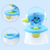 Portable Baby Potty Potties Baby Toilet Folded Car Potty Child Plastic Training Girl Boys Chair Trainer Toilet Seat Children Pot