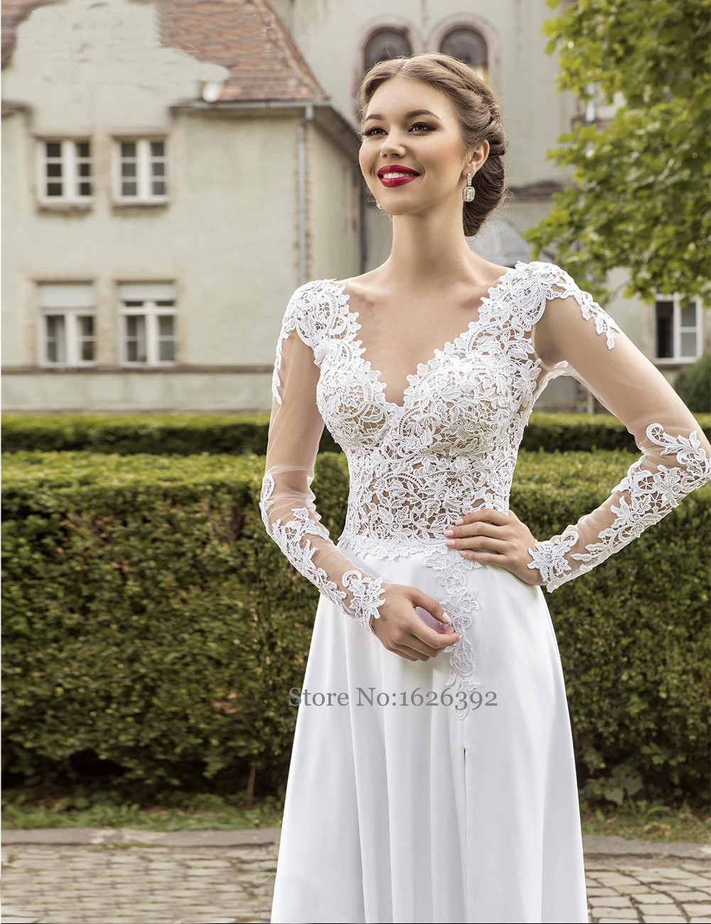 Hot Lace Wedding Dresses