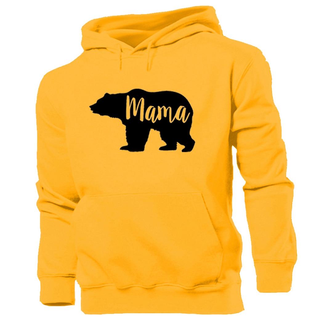 MAMA BEAR Hoodie Logo unisex men ladies NEW HOODIE