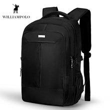 Роскошный рюкзак williampolo 2018 из ткани Оксфорд для мужчин