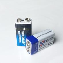 2 шт./лот 9 В в 1000 мАч USB литий-ионный аккумулятор 6F22 перезаряжаемая батарея детектор игрушка перезаряжаемая батарея Бесплатная доставка