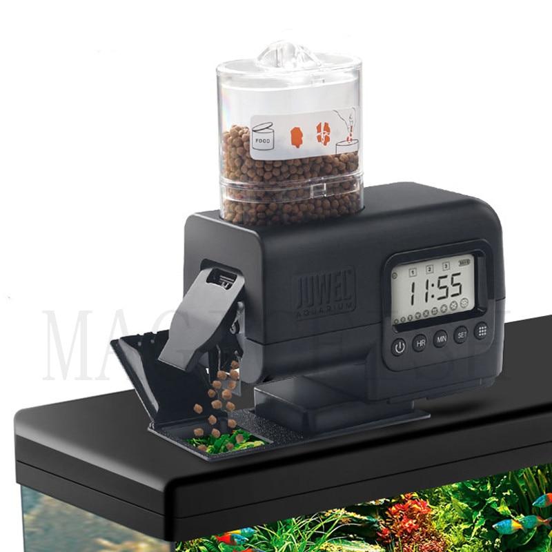 aquarium digital display tank automatic feeder feed fish food device auto feeder