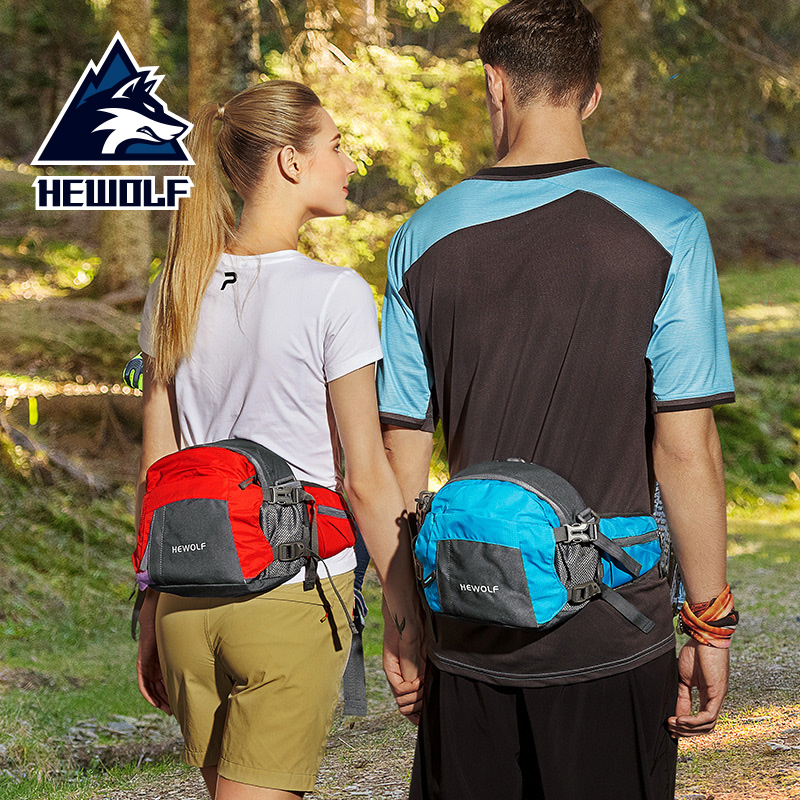 Hewolf Durable Climbing Backpack Lightweight /Water Resistant Daypack for Men Women/Hiking Camping Outdoor Sports