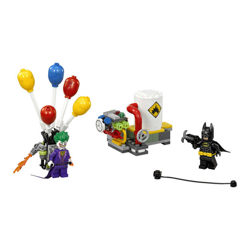 Lepin Pogo Bela 10626 Batman The Joker Balloon Escape Super Heroes Marvel Avengers Building Blocks Bricks Compatible legoe Toys lepin pogo bela superman wonder woman spider man wolverine super heroes marvel building blocks bricks compatible legoe toys
