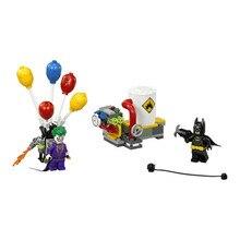 Lepin Pogo Bela 10626 Batman The Joker Balloon Escape Super Heroes Marvel Avengers Building Blocks Bricks Compatible legoe Toys