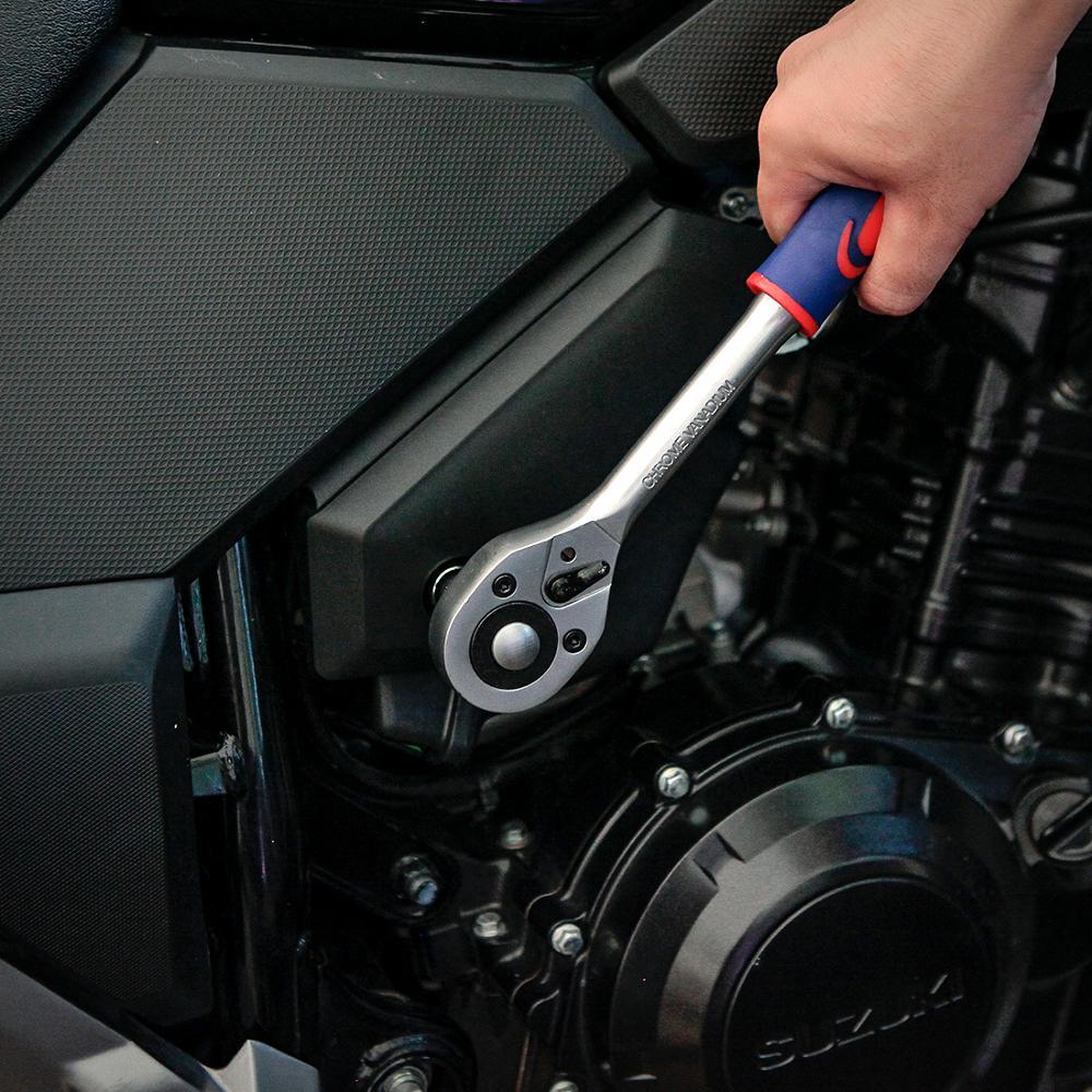 Купить с кэшбэком WORKPRO 108PC Tool Set for Car Repair Tools Mechanic Tool Set Sockets Set Bit Set Ratchet Spanners Wrench