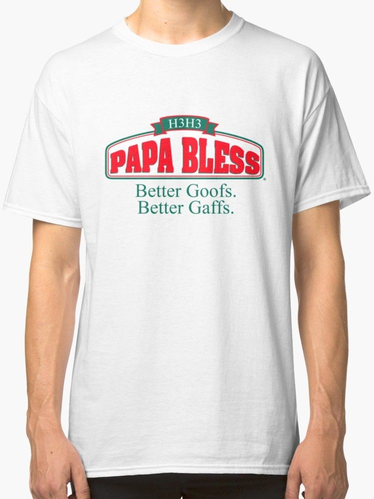 9ab96d77 New Papa Bless Men's T-Shirt image