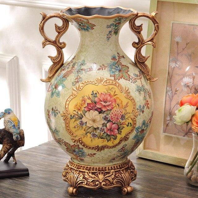 Series Of European Classical Exquisite Vase Ornaments Decorations