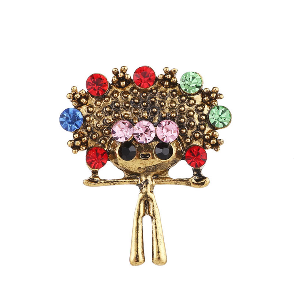 Women Fashion Cute Little Gold Cat Brooches Pin Up Scarf Suit Clips Corsages Brand Bijoux Fashion Jewelry