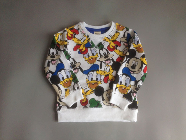 RB1331 2017 Spring Fashion Baby Boy Top Character Print KidsTees Full Sleeve Boy Clothes Casual