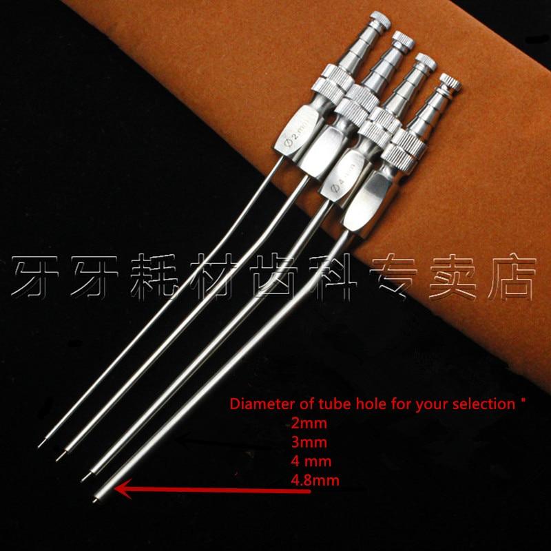 1pcs Dental Medical Surgery Aspirator Ferguson Frazier Suction Laboratory Tube 2mm/3mm/4mm/4.8mm