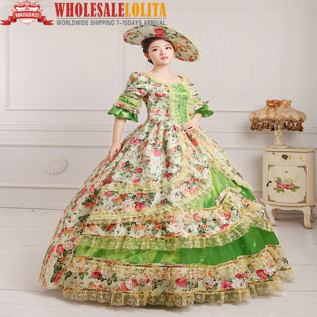 a7b50582872f7 US $120.0 |HOT!! Global FreeShipping 18th Century Belle Lolita Dress  Renaissance Medieval Marie Antoinette Party Rococo Dress For Women-in  Dresses ...