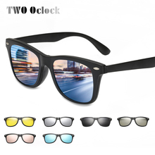 TWO Oclock Magnetic Sunglasses Women Clip On Sunglass Men Po