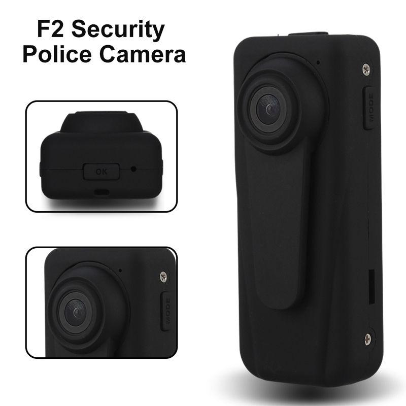 Blueskysea F2 1080P HD Police Camera 140Degree Security Guard Recorder Loop Recording Mini DVR Body Pocket 850mAh Battery