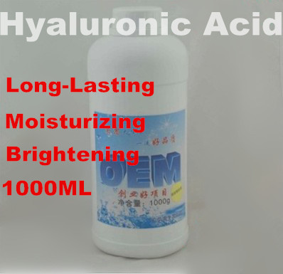 Hyaluronic Acid 100% 1000ml  Liquid Lock Long-lasting Moisturizing Nourishing Hospital SPA Equipment Free Shipping elizavecca witch piggy hell pore control hyaluronic acid 97