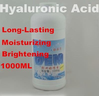 Hyaluronic Acid 100% 1000ml  Liquid Lock Long-lasting Moisturizing Nourishing Hospital SPA Equipment Free Shipping