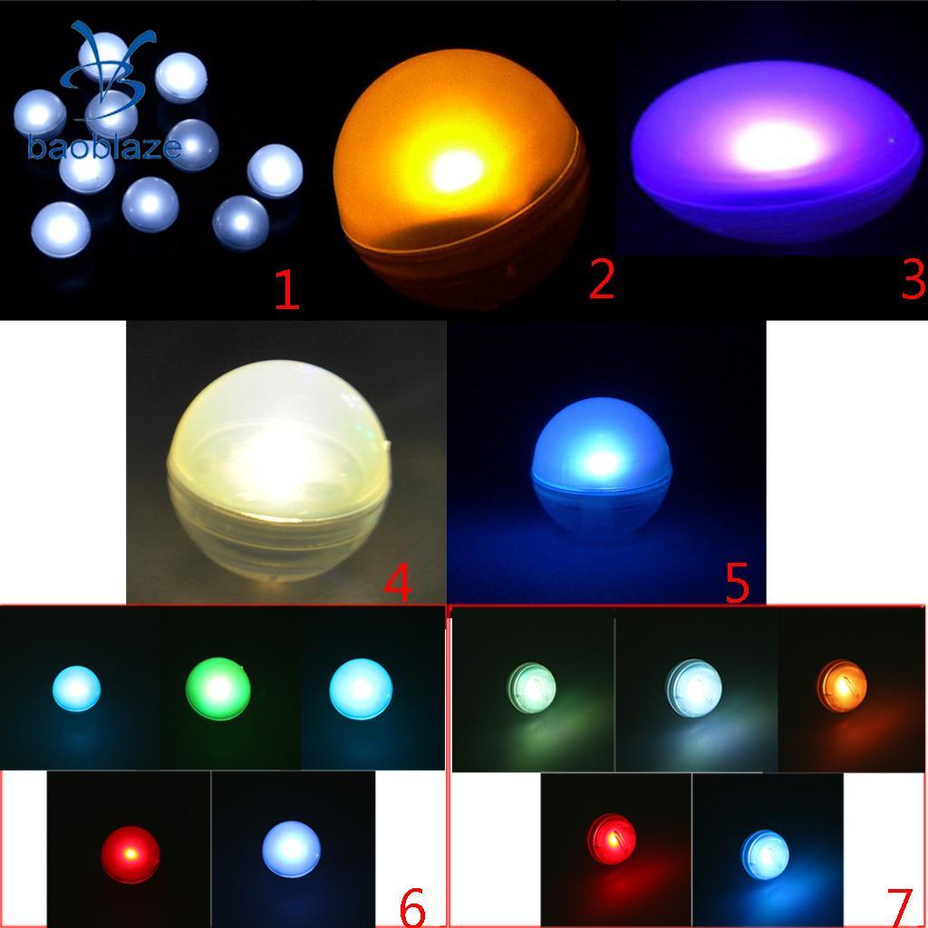Плавающий шар света бассейн/Рождество/партии/сад/Свадебный декор свет набор из 12 шт. ...